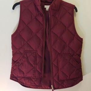Jcrew Women vest Coat
